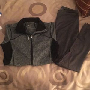reebok workout set